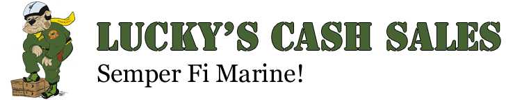 Luckys Cash Sales Logo